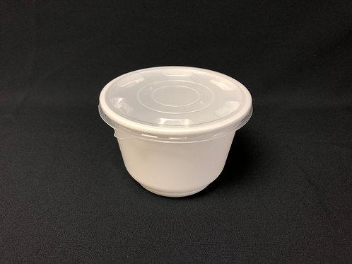Microwaveable Plastic Bowl, 12-32oz