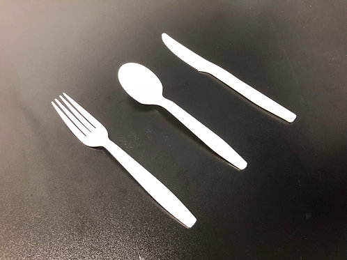 Extra Heavy Duty 5g Fork/Spoon/Knife, 1000pc