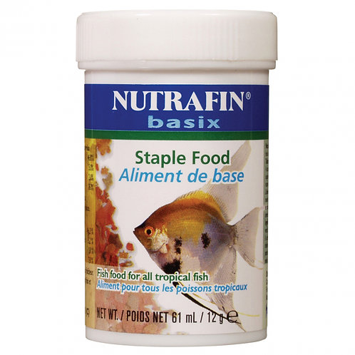 Aliment en flocon pour poissons tropicaux Nutrafin basix Animal Expert St-Bruno