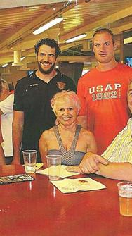 Club Usap champion de france-rugby