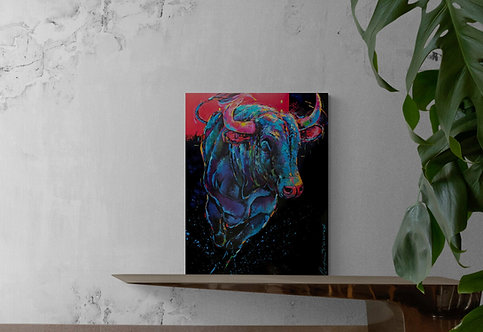 Exit- Andrée Marcoux artiste peintre et sculpteure québécoise - art figuratif et art animalier
