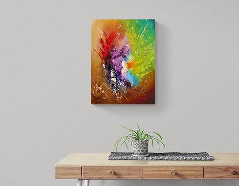 Mokup Grontmal  - Patrice Bru artiste peintre français - art abstrait