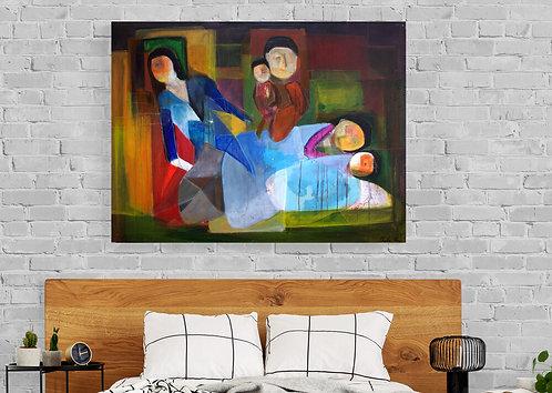 Mokup Noche - Charles Alexis artiste peintre