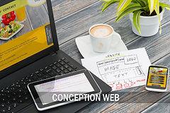 Conception Web : site, boutique et blogue