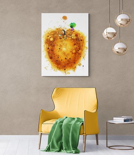 Mokup Conventicule ardent - Paméla Pinard - art abstrait