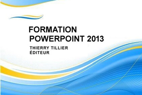 Cours PowerPoint 2013