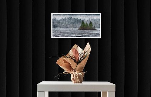Mokup l'ile  - Roger Winkler photographe québécois - art figuratif