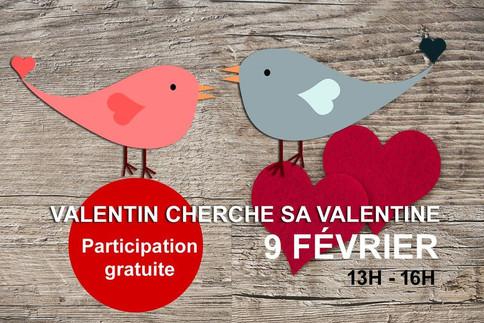 Événement Valentin cherche sa Valentine - 9 février 2019