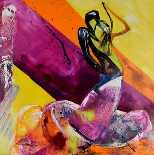 Joce artiste peintre - Danse