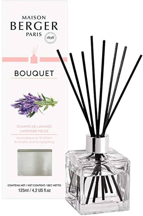 Bouquet champs de lavande lampe berger
