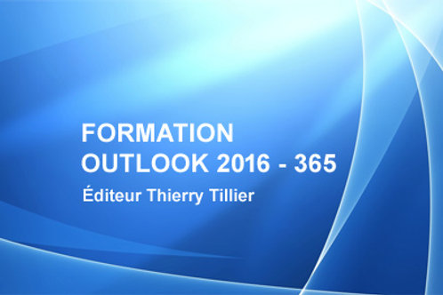 Cours Outlook 2016 - 365