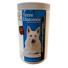 Terre de diatomée anti-parasitaire Chef Canin