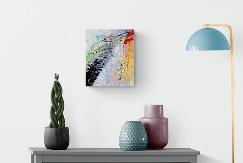 Mokup Majorca - Richard Fulham artiste peintre québécois - art abstrait