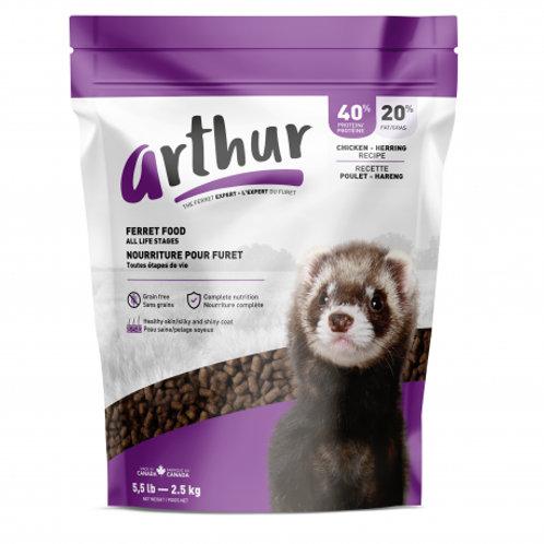 Nourriture complète pour Furet Arthur