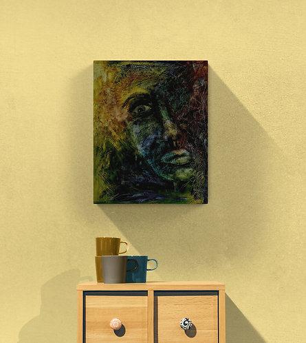 Mokup Dipita est l'espoir  - Sylvie Fournier artiste peintre art figuratif