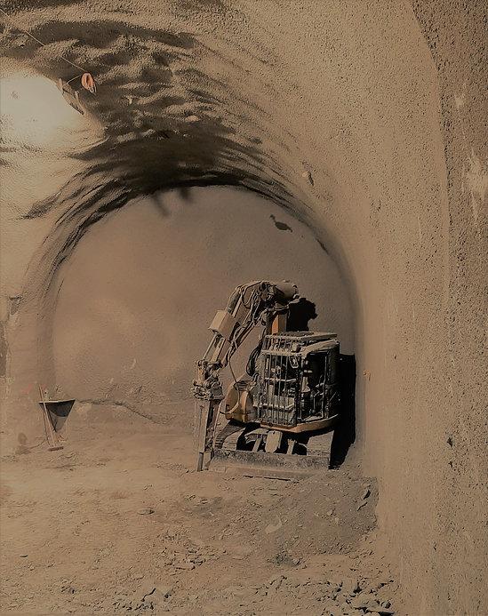 Construction de caverne stockage souterrain solution ECCUS SA