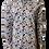 Chemise R2 manches longues semi-ajustée Bulles multicolor