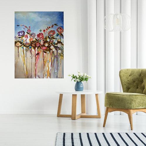 Nids d'oiseaux  - D.Desmeules artiste peintre