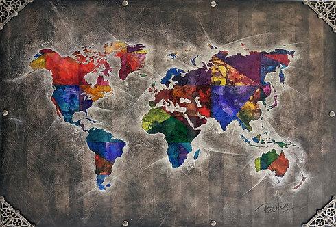 Mundo de Bolieu artiste peintre