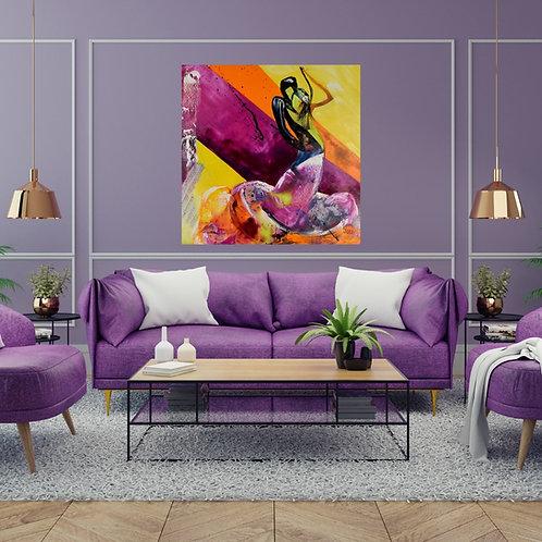 Déco Flamenco 5 bis de l'artiste peintre Joce