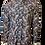 Chemise R2 manches longues semi-ajustée Palmier