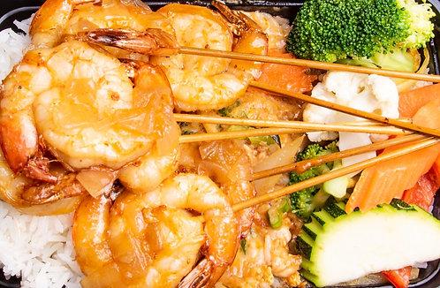 Brochettes Crevettes à commander en ligne