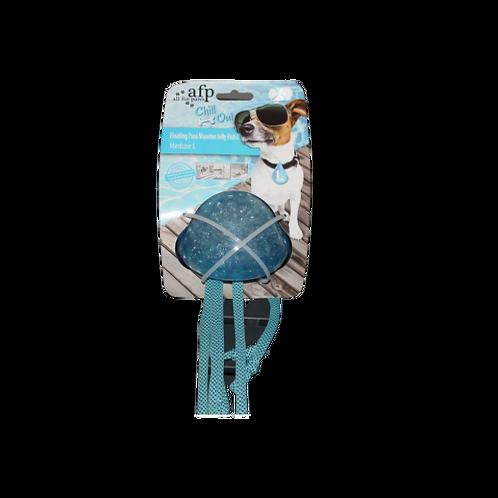 Méduse bleue givrante pour chien