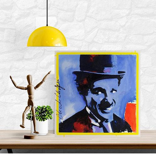 Mokup Charles - M.Roy artiste peintre art pop
