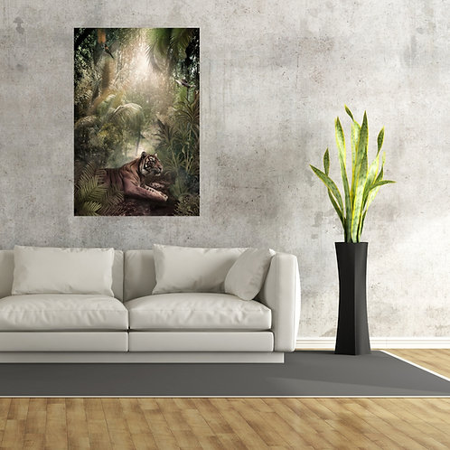 Mokup Majestic Jungle - Artiste DS.Kamala