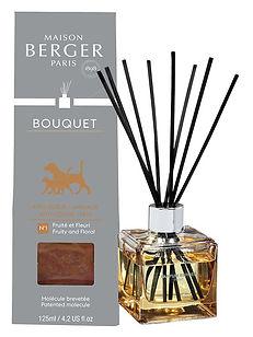 Bouquet parfumé Anti-Odeur Animaux - Fruité & Fleuri lampe berger