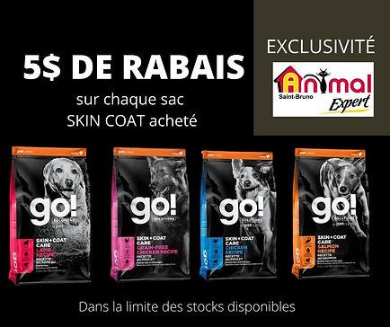 Rabais Go Petcurian skin coat Animal Expert St-Bruno