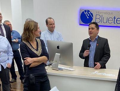 Réseautage chez Blue Tech à St-Lambert