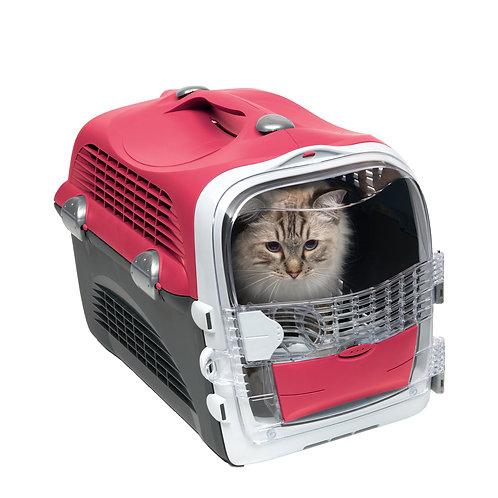 Cage de transport multifonctionnelle pour chats Cabrio