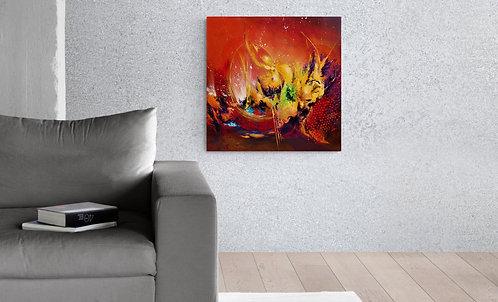 Mokup Genesis  - Patrice Bru artiste peintre français - art abstrait