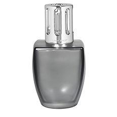 Coffret Lampe Berger June gris satiné – Eau d'aloé lampe berger