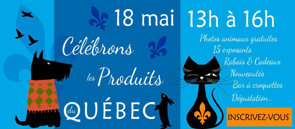 Événement Célébrons les produits du Québec - 18 mai 2019