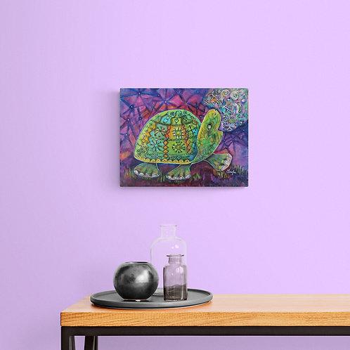 Mokup La complainte de la tortue  - Caroline Singler artiste peintre