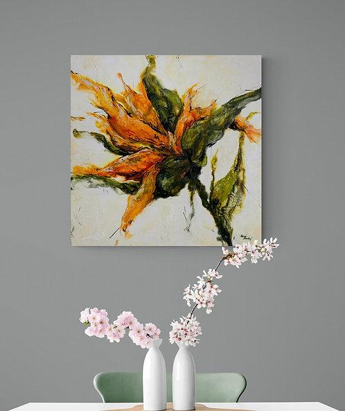 Mokup Inspirante Alicia  - P.Bouchard artiste peintre impressionniste