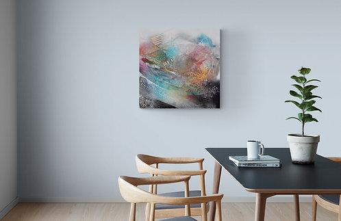 Mokup Cap Horn - Richard Fulham artiste peintre québécois - art abstrait