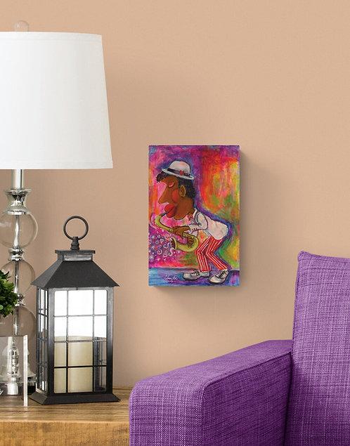 Un p'tit air de Jazz - Caroline Singler artiste peintre