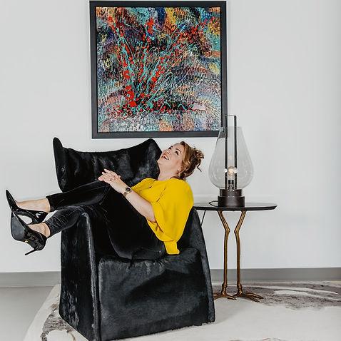 Aro artiste peintre un fauteuil pour deux