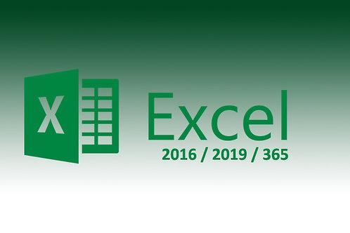 Formation Excel 2016-2019-365
