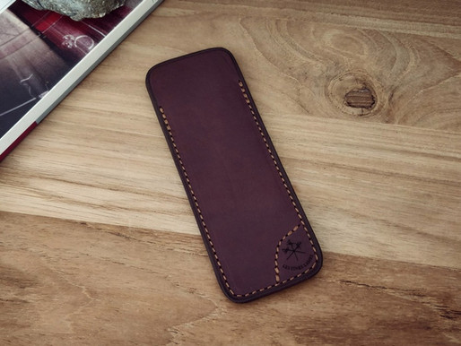 Review: Burgundy Leather Sheath For Les Fines Lames Cigar Cutter