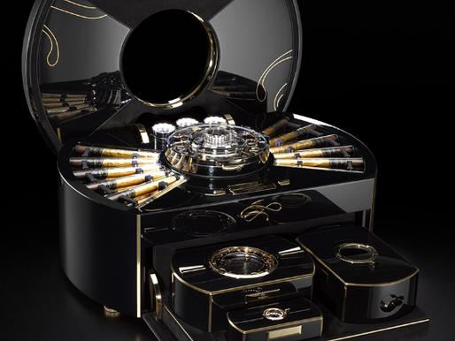 Imperiali Geneve Cigar Chest - The World's Coolest Humidor (Video Inside)