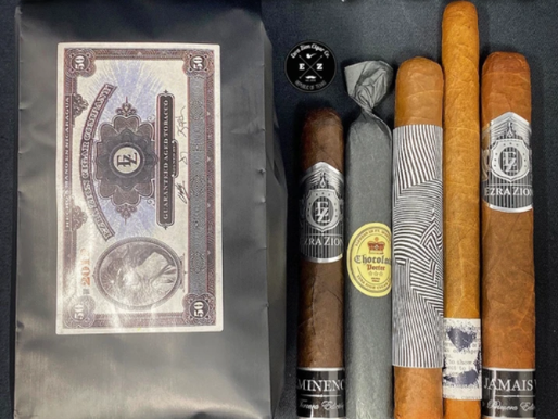 Ezra Zion Monthly Cigar/Coffee Subscription