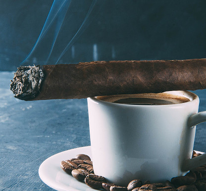 A Match Made In Heaven - Pairing Coffee And Cigars