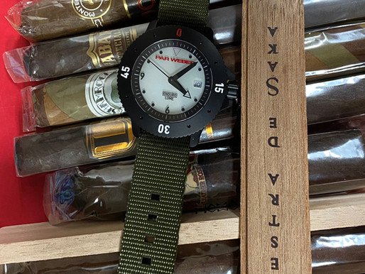 Par Weber: The Official Watch Brand Of Big Chief Cigar Review