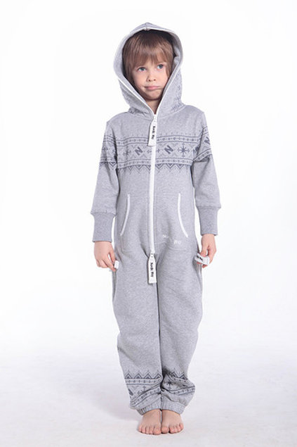 Kids Printed Grey