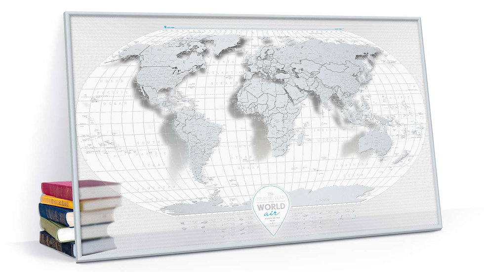 Travel Map Air Word