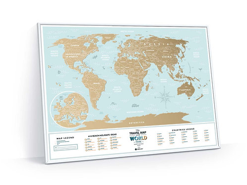Travel Map Holiday Lagoon World